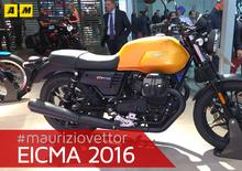 Moto Guzzi V7 III a Eicma 2016: il video