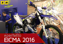 Sherco 125 SE-R 2017 a EICMA 2016: foto e video