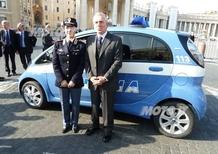 Consegnate 2 Citroen C-Zero alla Polizia di Stato