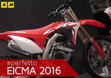 Honda CRF450R, RX e Country 2017 a EICMA 2016: foto e video