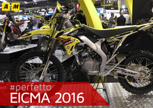Valenti Racing RME50 e Suzuki RM-Z Special 2017 a Eicma