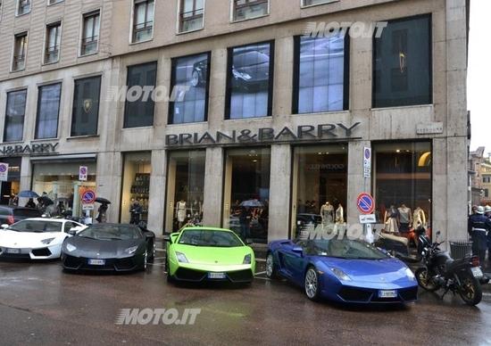 Presentata da Brian&Barry la collezione abbigliamento Lamborghini 2012