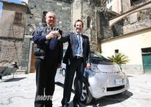 Una Peugeot iOn per il comune di Vernazza