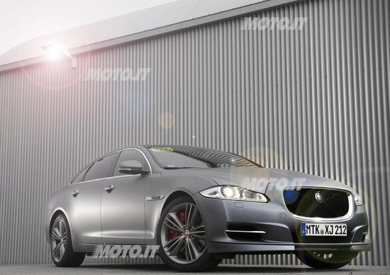 Jaguar XJ Supersport: nuovo Taxi per il Nürburgring