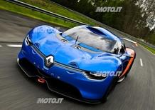 Renault Alpine A110-50: immagini e dati ufficiali