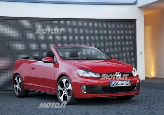 Volkswagen Golf GTI Cabriolet: listino prezzi