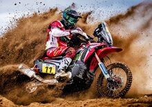 Monster Team Honda HRC Rally: Roberto Boasso e Joan Barreda