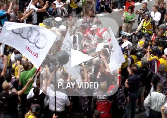 24h di Le Mans 2012: vince la Audi R18 e-tron quattro