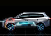 Mitsubishi Outlander Plug-In Hybrid EV: il primo teaser