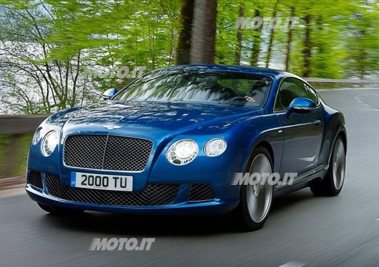 Bentley Continental GT Speed: la più veloce di sempre