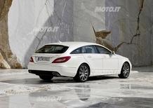 Mercedes-Benz CLS Shooting Brake: prime immagini ufficiali