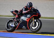 Test Valencia, day 1: Viñales è il più veloce