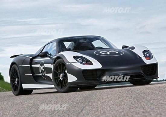 Porsche 918 Spyder: in listino da 786.954 euro
