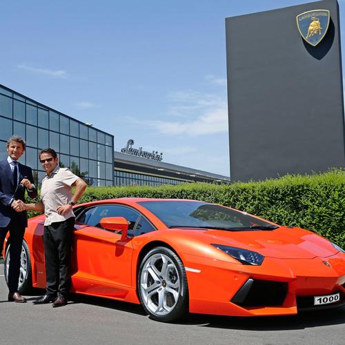 Lamborghini aventador prodotti esemplari news for Concessionari lamborghini