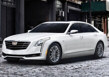 Cadillac CT6 Plug-in Hybrid: esordio USA a Los Angeles