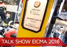 Talk show Eicma 2016: i pro e i contro della moto elettrica
