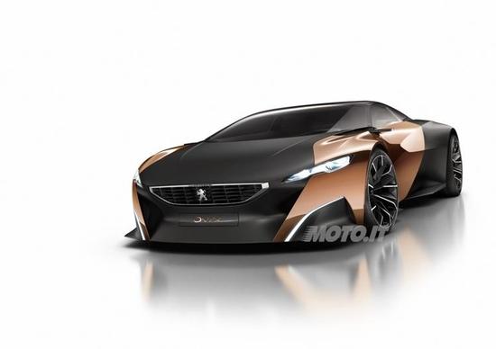 Peugeot Onyx svelata ufficialmente