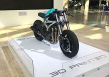 Divergent Dagger, una moto ottenuta in stampa 3D