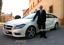 Paolo Lanzoni: «Mercedes CLS Shooting Brake è una nuova rivoluzione»