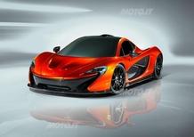McLaren P1: le prime immagini ufficiali
