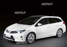 Toyota Auris Touring Sports: foto e informazioni ufficiali