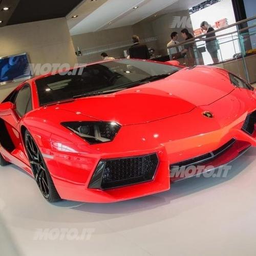 Lamborghini aventador 2013 ora con tecnologia di for Concessionari lamborghini