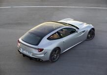 Ferrari FF: a Parigi anche con tetto panoramico
