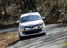 Renault Twingo R1, a scuola di rally