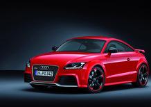 Audi TT RS plus: listino prezzi