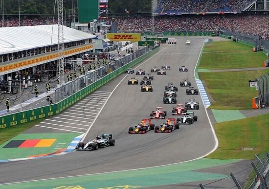 Formula 1, GP di Germania: addio per il 2017