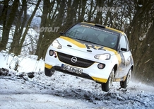 Opel Adam R2: i dati tecnici della vettura da Rally che verrà presentata a Ginevra