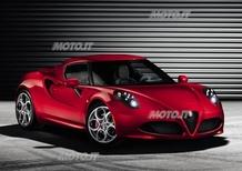 Alfa Romeo 4C: nuove immagini ufficiali