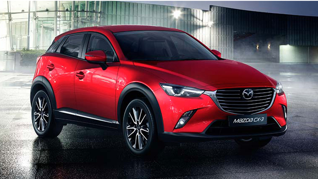 Mazda CX-3 1.8L Skyactiv-D Executive