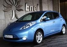 Enel-Eni: siglato accordo per il rifornimento delle auto elettriche