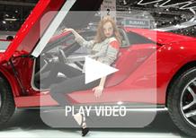 Salone di Ginevra 2013: i video delle ragazze più belle