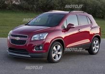 Chevrolet Trax: i prezzi