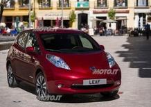 Nuova Nissan Leaf: prezzi sotto ai 20.000 euro con gli incentivi