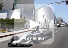 Formula E: il primo prototipo sulle strade di Los Angeles