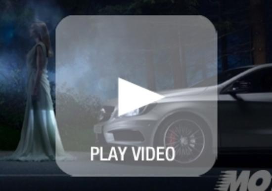 Mercedes-Benz A 45 AMG: lo spot ufficiale con Hamilton e Rosberg
