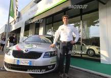 All'Autovega di Vicenza la nuova Corporate Identity Skoda