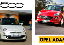 Fiat 500 vs Opel Adam