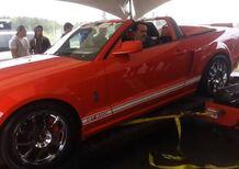 Shelby GT500 distrugge il banco prova - Video