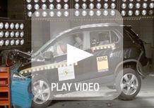 Euro NCAP: 5 stelle per Trax e Captur. 4 e 3 stelle per Sandero ed Evalia