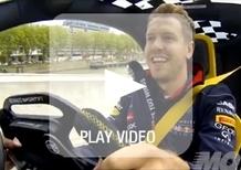 Sebastian Vettel: al volante di Renault Zoe, Twizy e Twizy F1
