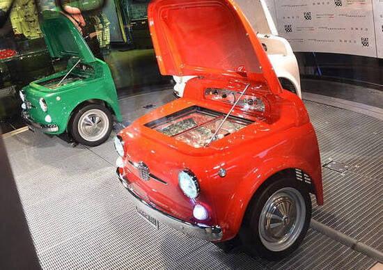 Smeg Quando La Fiat 500 Diventa Un Frigorifero News Automoto It