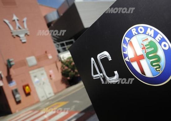 Alfa Romeo 4C: nel cuore dello stabilimento di produzione a Modena