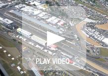 Le Mans 2013: in volo con l'elicottero sul Circuit de La Sarthe