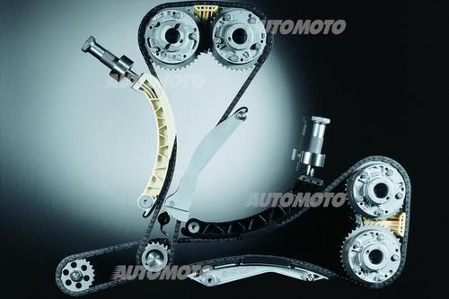 Le catene a rulli costituiscono la soluzione più classica in campo moto e hanno larga diffusione anche sui motori automobilistici