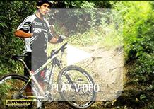 A scuola di Mountain Bike con il Campione Olimpico Marco Aurelio Fontana: le linee in discesa