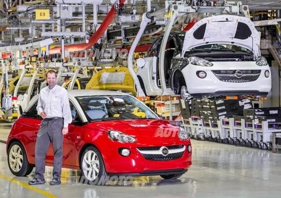 Opel: per sostenere la domanda di Adam ne verranno ampliati gli stabilimenti